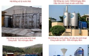 Hệ thống xử lí nước sinh hoạt và nước thải