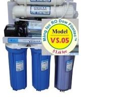 Máy lọc nước Avana 5 lõi lọc không vỏ tủ