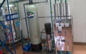 Hệ thống xử lí nước sinh hoạt Cty Bông Bắc Giang