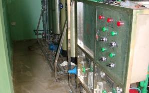 Hệ thống xử lí nước tinh khiết cho Cty Dược Phẩm Hoa Linh