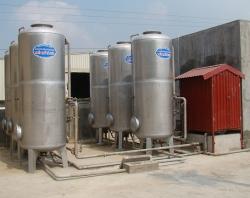 Hệ thống xử lý nước sinh hoạt Cty Thép Sóc Sơn