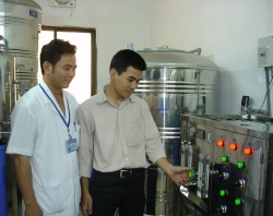 Hệ thống xử lí nước tinh khiết cho chạy thận Bệnh viện Hải Dương